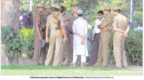 "When a picture is worth a thousand words. From The Indian Express, 25 September 2008, ""Delhi Newsline"""