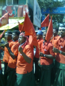 Adivasi Mahasabha rally in Raipur 2
