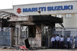 The Manesar factory of Maruti Suzuki