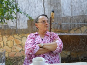 Lisa Taraki of Birzeit University, photo AN/NM