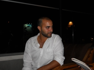 Fajr Harb, youth movement activist, photo AN/ NM
