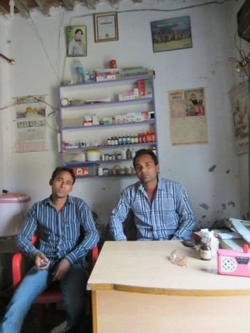 3 - Dr. Ranjodh Singh (L) with his brother, Gurpreet.