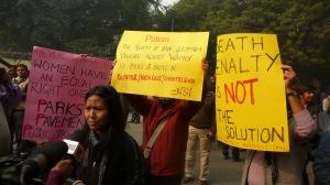 New Socialist Initiative Activists Speaking at Jantar Mantar