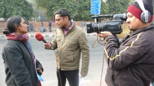 Kavita Krishnan, AIPWA, Speaking to the Media