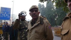 Policemen Videotaping Demonstrators