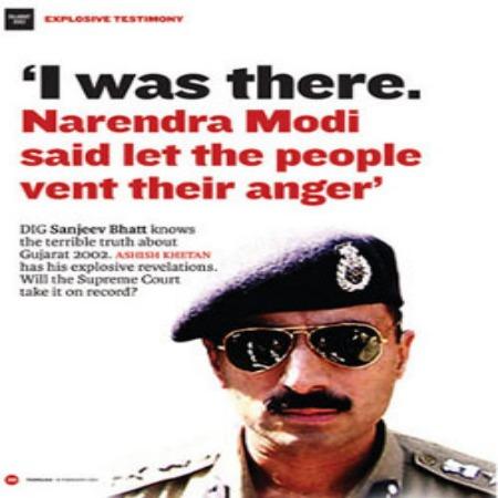 Gujarat Riots-Sanjiv Bhatt Arrest-Tehelka