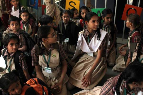 A school in Juhapura. Photo credit: Atish Patel