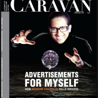 Arindam Chaudhuri, the IIPM has sued The Caravan- and fight is on #Censorship
