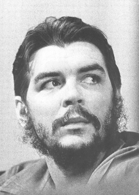 A portrait of Che provided by the Centre for Che Studies, Havana