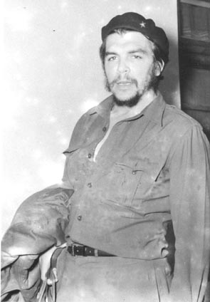"""Picture of Che Guevara taken in New Delhi by Photo Division photographer Kundan Lal who accompanied him mostly. Mr Lal termed the picture as """"Portrait of Cuban national leader"""")."""