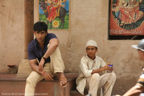 A still from Kai Po Che