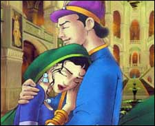 Still from an animation film, 'Bhaggmati'