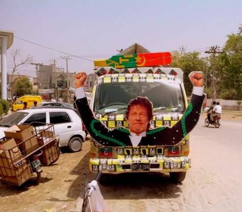 Election campaigning in Rahimyar Khan. Photo by Imran Khan/PakVotes.pk