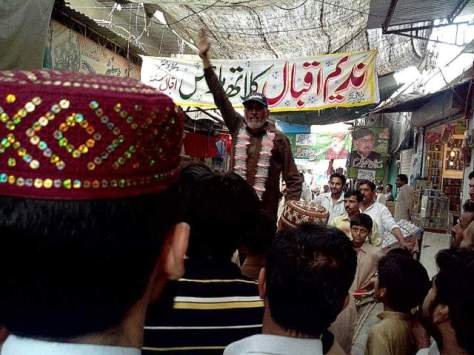 An MQM rally in Jhang. Photo by Aamir Ali/ PakVotes.pk