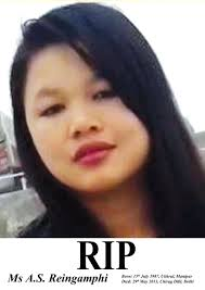#RIP - Mourning Reingamphi Awungshi, 21 year old from Manipur #Rape #Vaw