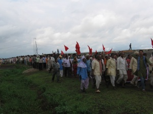 Rally against the Chutka Nuclear Power Plant