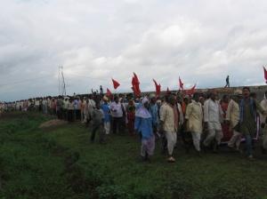 Rally against the Chutka Nuclear Power Plant