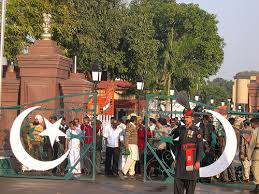 The Gate at the Wagah Border Crossing