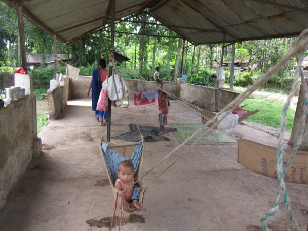 The company-provided creche at Rungamuttee
