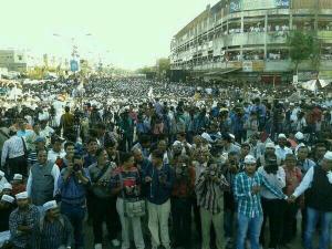 AAP Rally in Gujarat. Courtesy Mukul Sinha