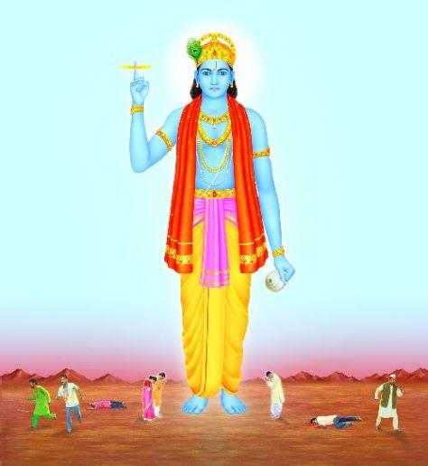 Satvik image of Sri Krishna