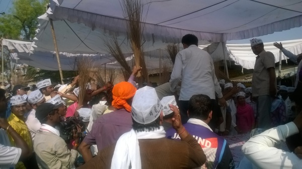 AK at Bachhaon bazar