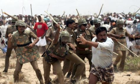 Koodankulan protest 2, image courtesy The Hindu