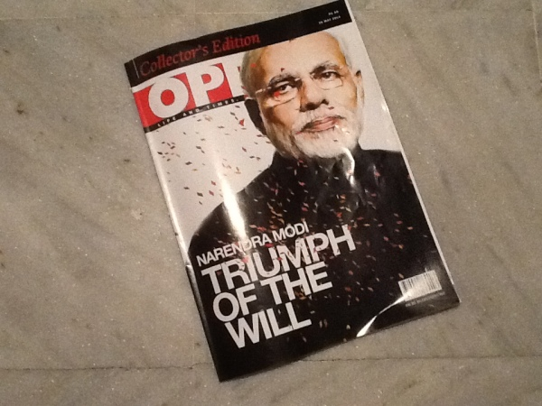 'Triumph Of the Will' Open Magazine, May 26, 2014