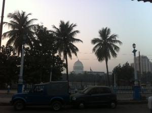 GPO at dusk