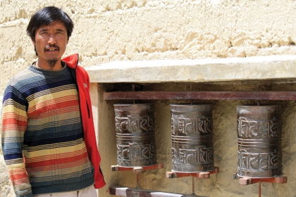 Cherring Bodh at Tabo Monastery