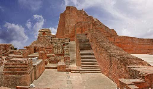 Ruins of Ancient Nalanda University