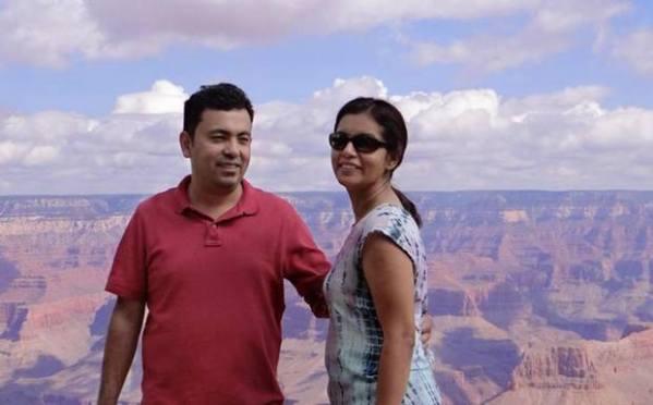 Avijit Roy and Rafida Ahmed Banya