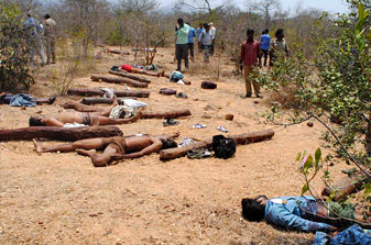 Encounter killings in Seshachalam forests