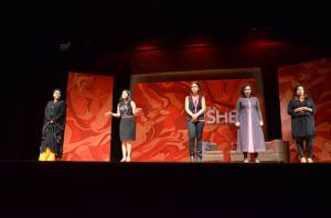 Women onstage: diverse aesthetic choices