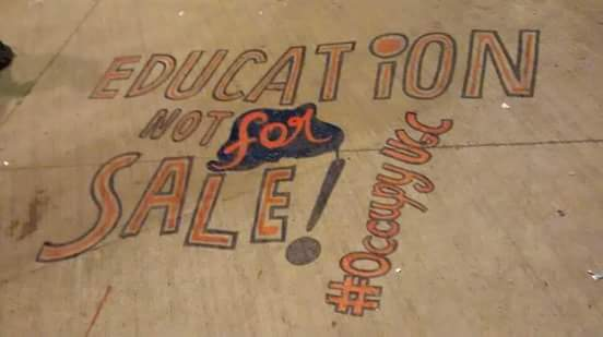 Education - Not for Sale - #OccupyUGC
