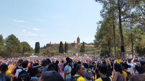 Union buildings in Pretoria yesterday photo cred - Andries Bezuidenhout