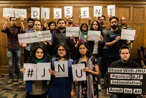 Students and Faculty, University of Illinois Urbana Champaign in Solidarity with JNU