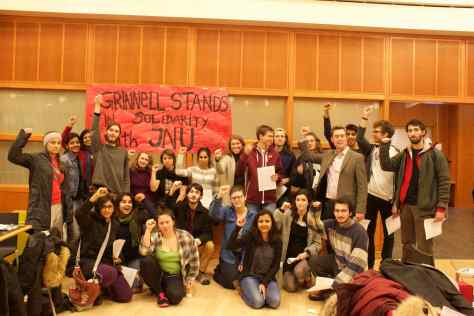 Grinnell-JNU Solidarity
