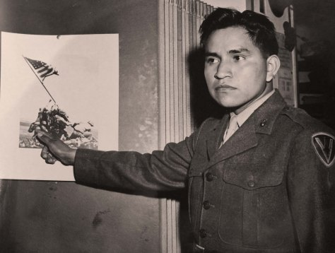 Ira Hayes and the Iwo Jima Picture