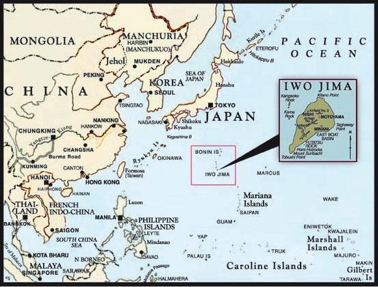 map-iwo-jima