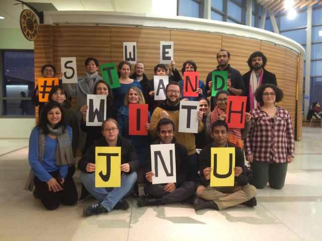 We Stand With JNU