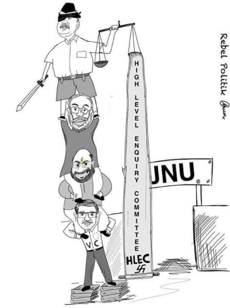 Cartoon by V. Arun Kumar