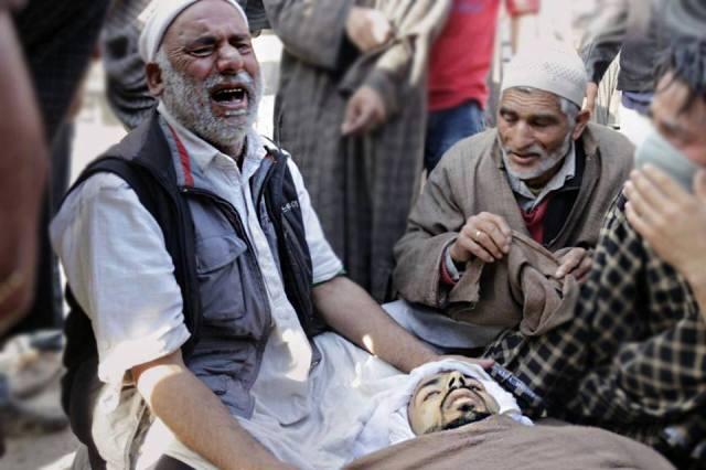 Nayyem Qadir Bhat, killed on the streets of Handwara