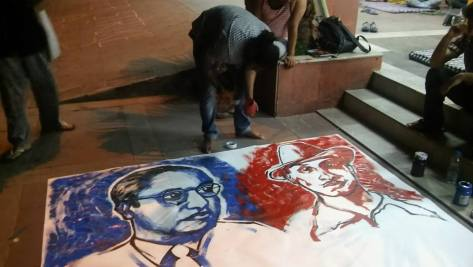Posters Continue to be Made. Jai Bhim, Lal Salaam