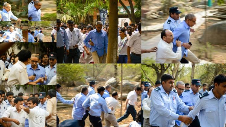 The JNU VC Runs Away