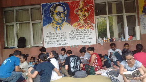 students on hunger strike