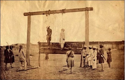 1857 hanging Megha post