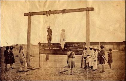 1857 hanging Megha post