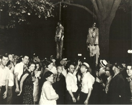 The lynching of Thomas Shipp and Abram Smith, Indiana, 1930.