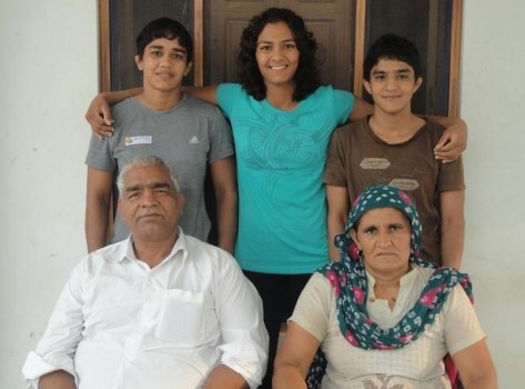 The Phogat family